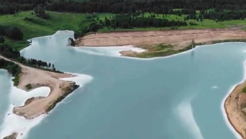 網紅湖泊有毒