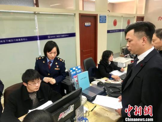 """一网通、一日看着结背后:商事制度改革""""杭州观察"""""""