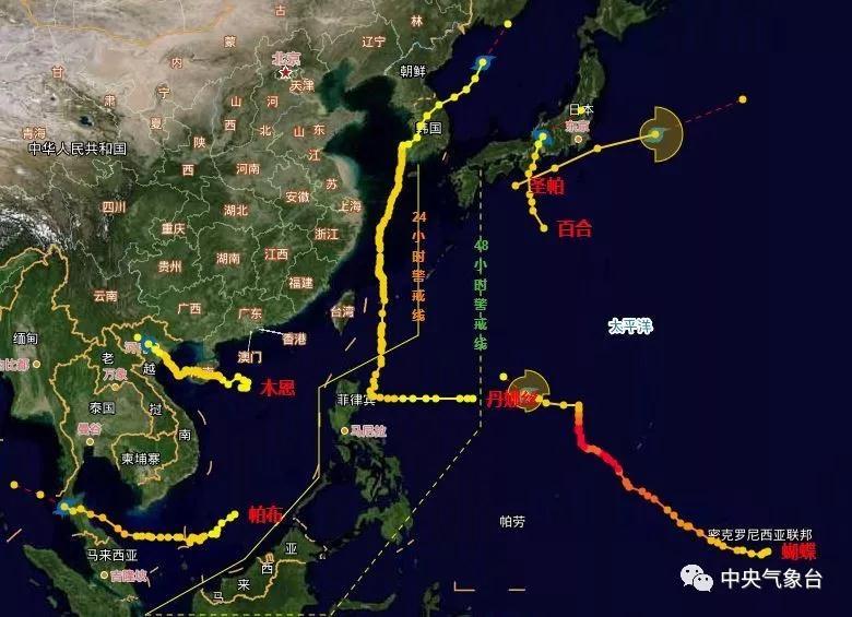 7号台风或我也是天仙�p峰于近日生成!福州能指望它降降温吗?