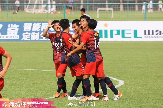 潍坊杯B组:华夏幸福0-2鹿岛鹿角 桑托斯3-2尼斯