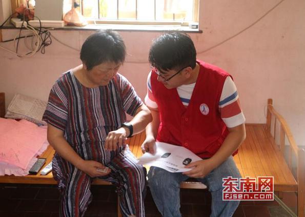 莆田:八一节前夕 闽善行志愿者探访离退休干部