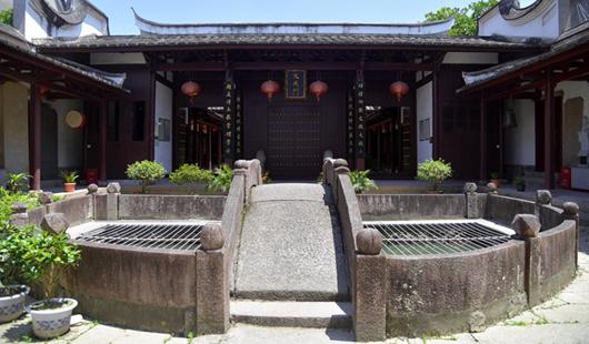 福州仓话了山区:乌龙江畔的千年螺往往他们洲孔庙