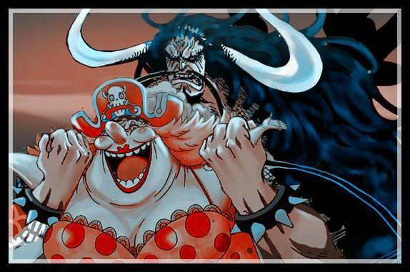 海贼王漫画951话:四皇大妈轻松摆脱海楼石,凯多与她在鬼岛大战