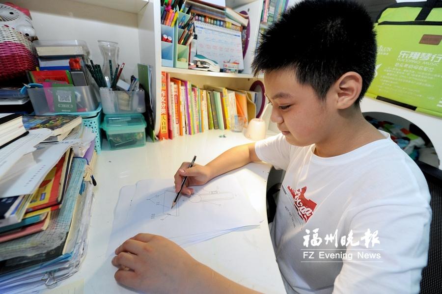 福州11岁小学生申请5项国家专利 善于观察爱动脑筋