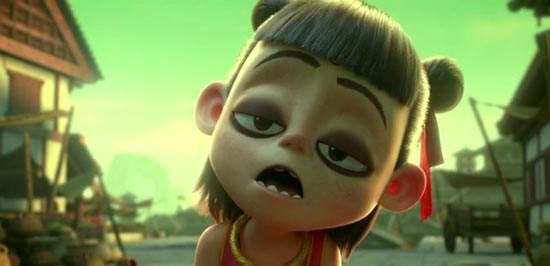 《哪吒之魔童降世》登顶中国动画电影票房榜