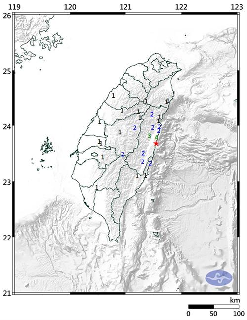 台湾4.8级地震怎么回事?台湾4.8级地震哪里有震感详细情况