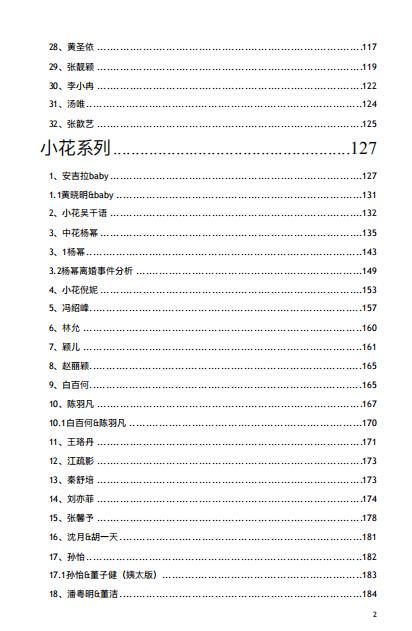 追星女孩的421页PDF,瓜越吃越大越吃越多