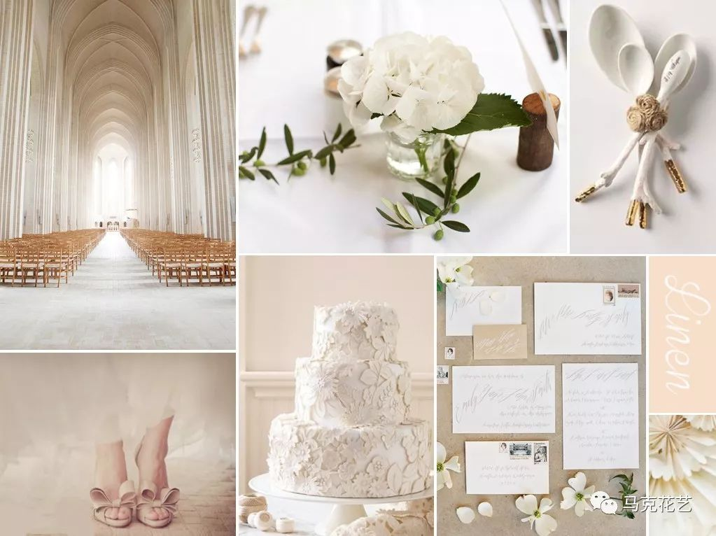 十大主題色婚禮搭配 看完單身狗都想結婚了!