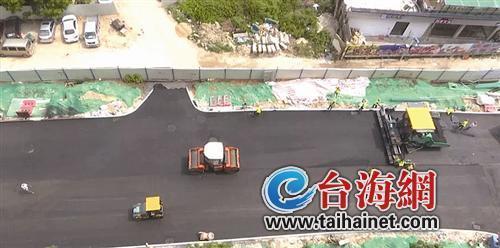 漳州市区草寮街拓通工程预计国庆前完工