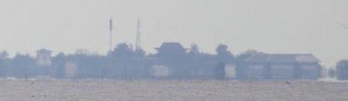 洪泽湖海市蜃楼 壮丽奇观