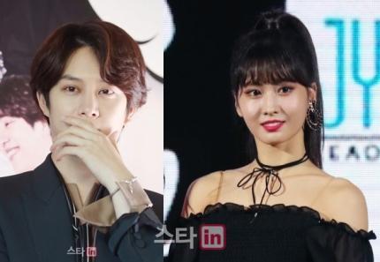 SJ希澈、TWICE Momo被爆热恋,JYP火速回应了