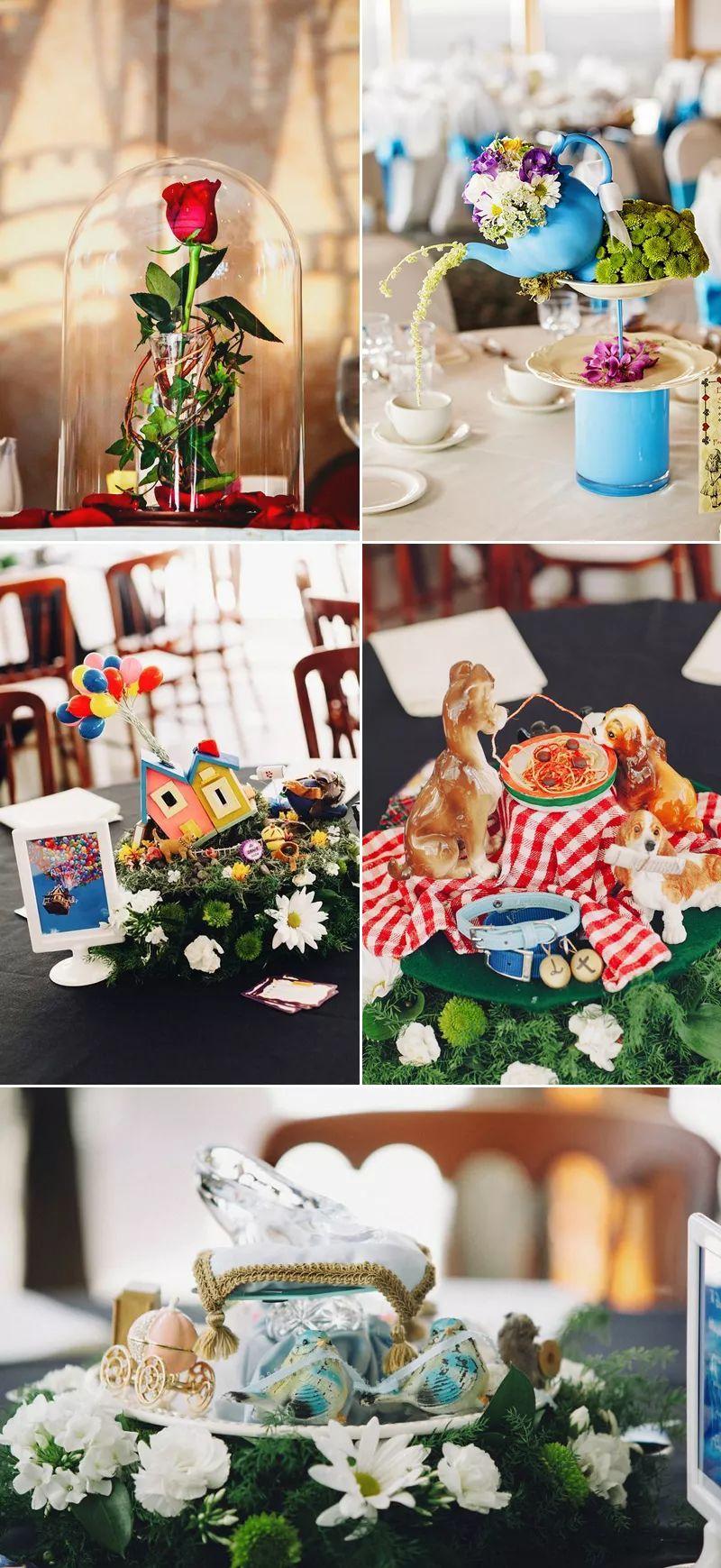 33种节省开销的创意时尚桌花 打造梦幻婚礼
