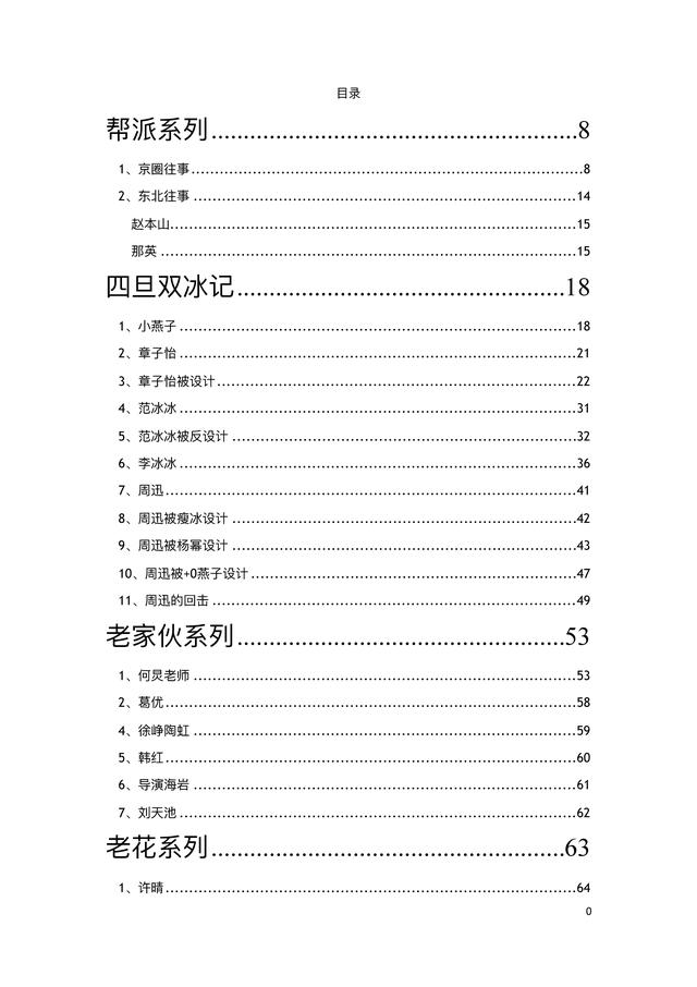 421页PDF明星八卦汇总是真的吗?上至一二线下至十八线都被……