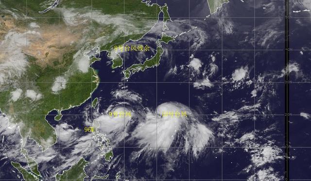 台风利奇马最新消息 前往日本的概率最高