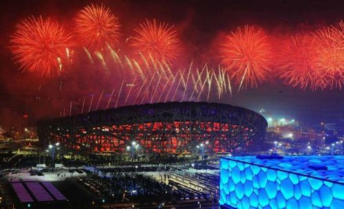 北京奥运会11周年 开幕式盛况