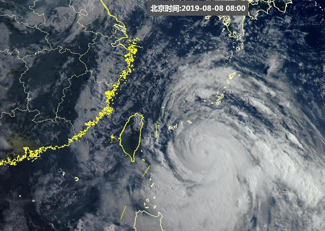 利奇马超强台风最新位置,台风利奇马在哪登陆,会带来哪些影响?