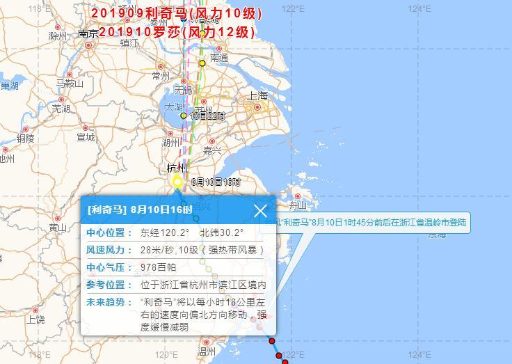 台风利奇马11日登陆山东!2019台风最新消息 第9号台风利奇马路径实时发布系统图最新更新