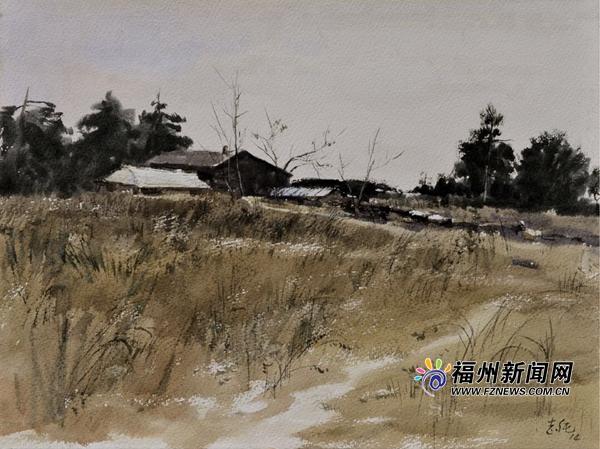 """""""双栖""""画家孙志纯:行走风景,融汇中西"""