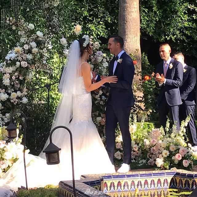 魏圣美与NBA名宿杰里-韦斯特之子成婚 魏圣美个人资料