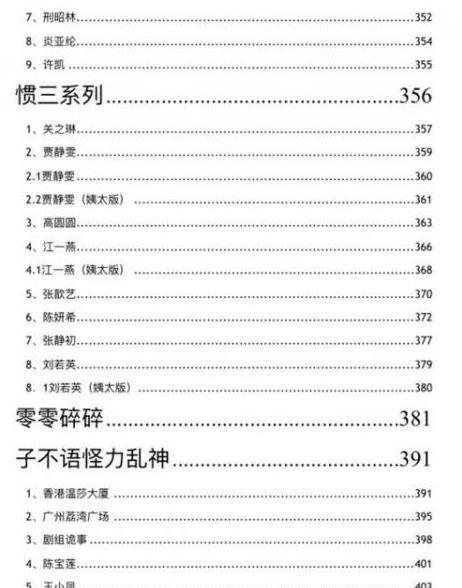 421页pdf百度云资源,娱乐圈421页pdf完整目录曝光在线看链接