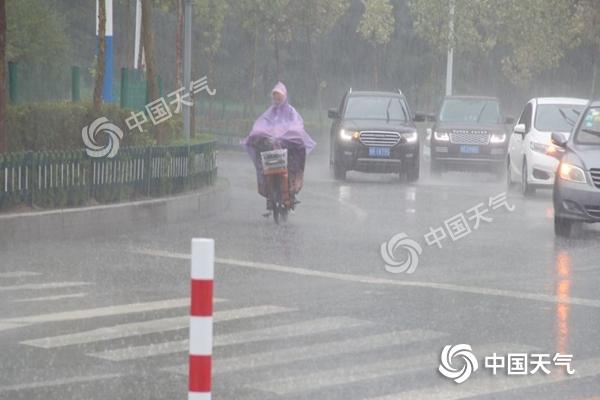 台风 利奇马 渐远山东雨势减弱 【今天局地仍需防范大暴雨】