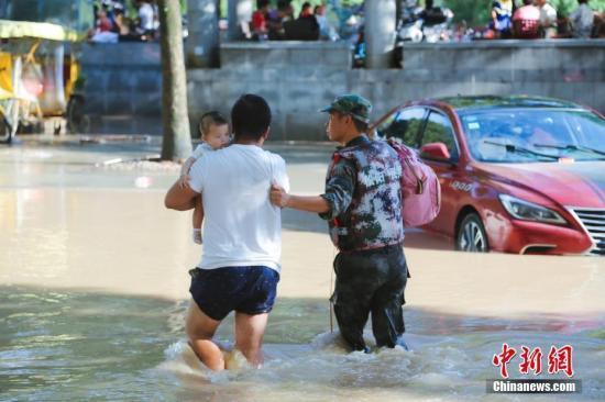 """台风""""利奇马""""将北上进入渤海 已致651万人受灾"""