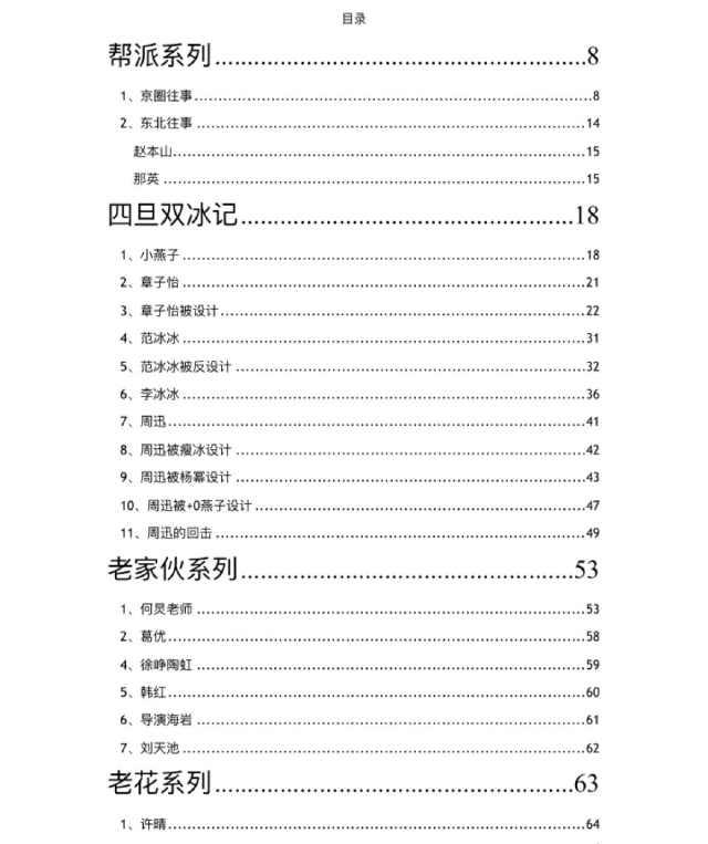421頁pdf明星八卦最全匯總在線看 娛樂圈421頁pdf最新百度云下載