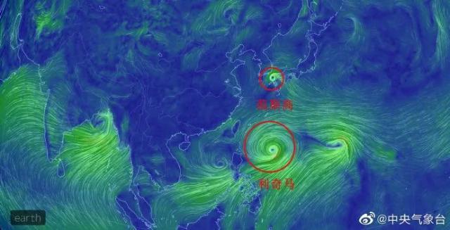 利奇马台风登陆山东 最大风力8级 第9号台风利奇马实时路径图动态发布 3