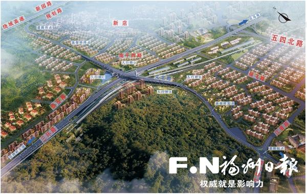 义北路北段力争明年建成通车