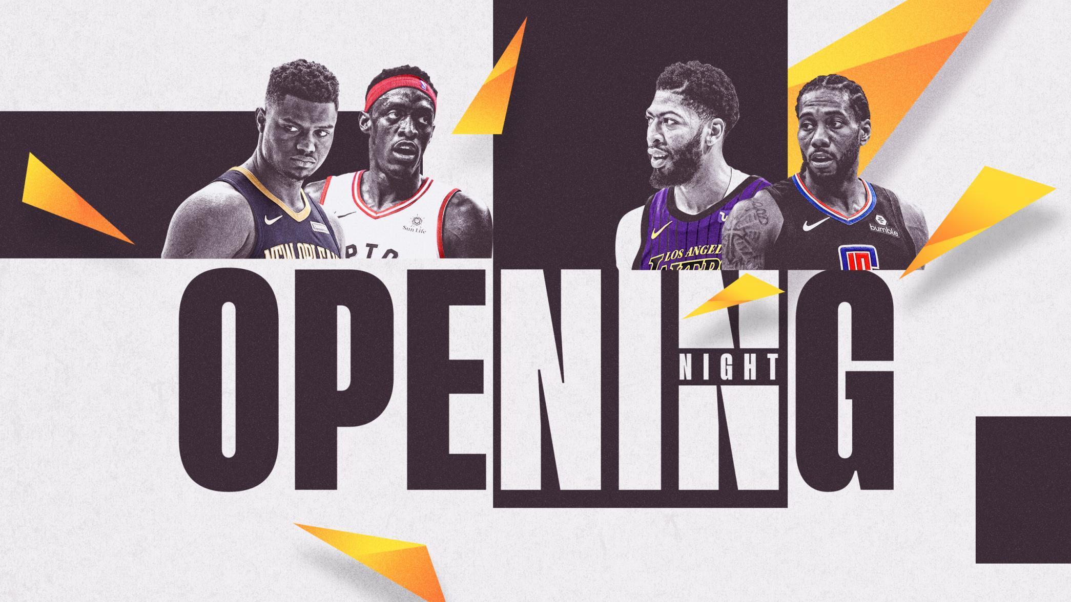 洛城双雄领衔NBA揭幕战 圣诞大战全是恩怨对决