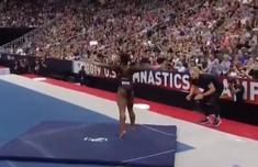 美体操名将做出逆天动作团身1080度 这个动作到底有多难?