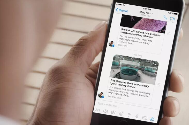 Facebook承认雇人监听和转录用户对话 现已停止