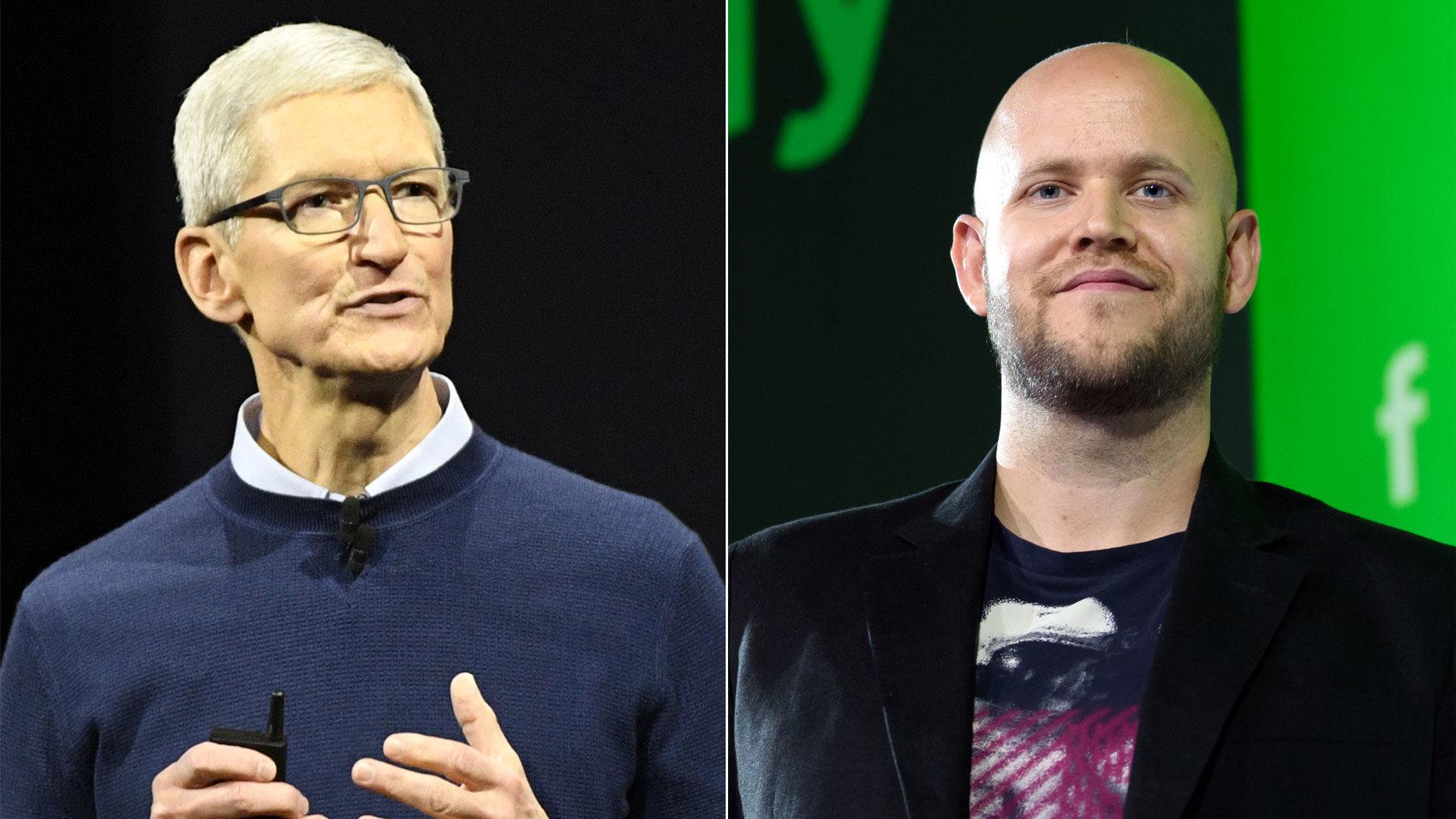 传苹果向对手妥协!Siri或将兼容Spotify服务