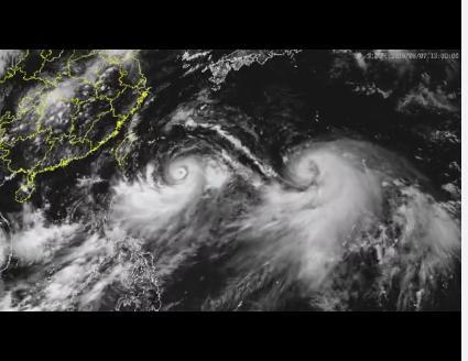 2019台风最新消息 第9号台风利奇马停止编号!第10号台风罗莎路完全是在教训安再轩径实时发布系统图最新更新