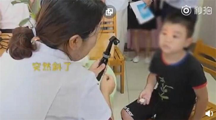 9歲男孩1天10小時玩手機變斗雞眼