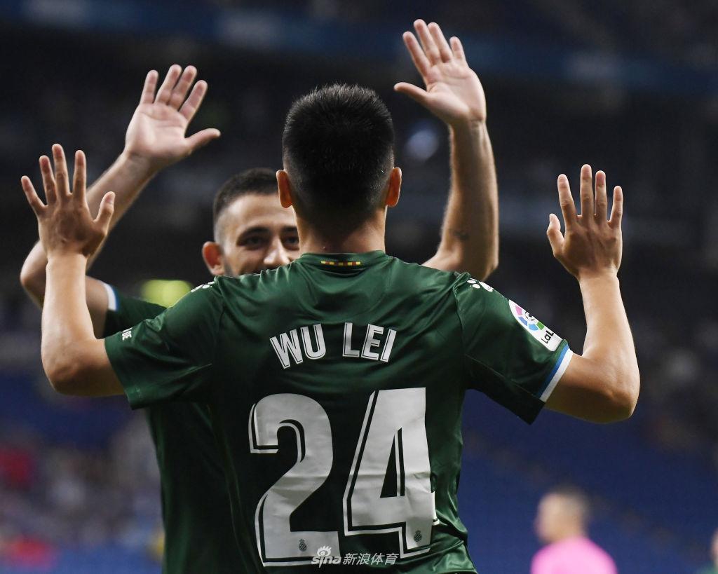 西班牙人3-0卢塞恩 武磊开场3分钟闪电打入个人首粒欧战进球