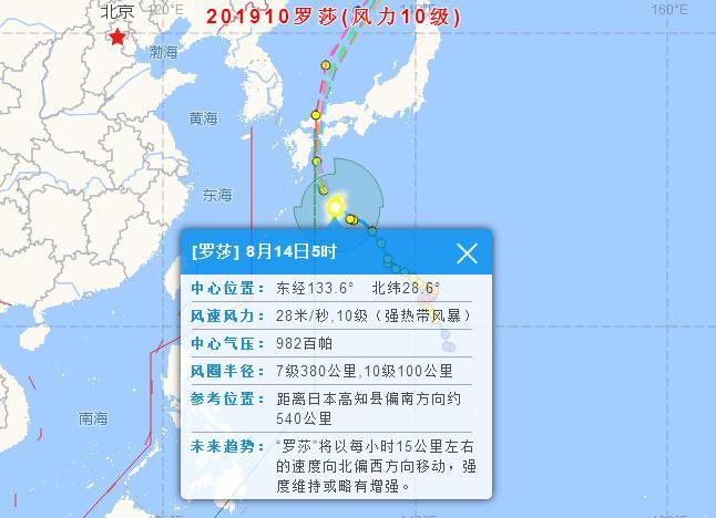 2019台风最新消息!