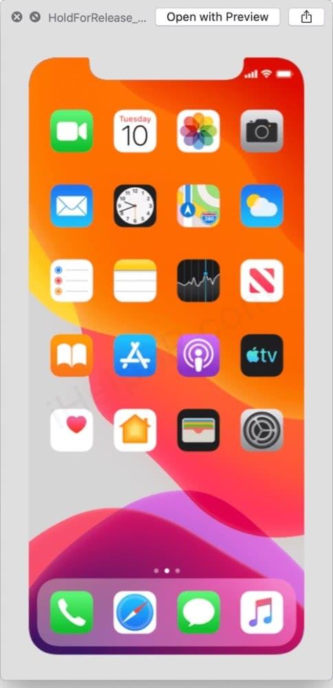 iPhone 11发布时间曝光 泄密的竟然是最新版iOS