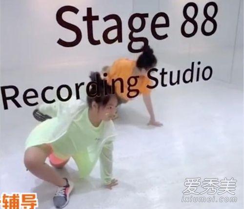 李湘女儿学舞视频 李湘女儿学舞什么样子?