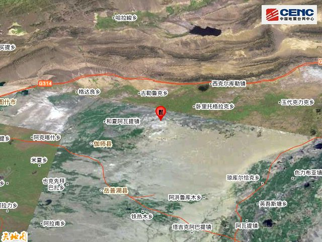 喀什3.3级地震什么情况 新疆喀什地区伽师县发生3.3级地震