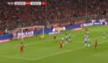拜仁2-2柏林赫塔 格纳布里助攻莱万首开纪录