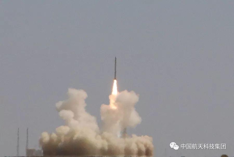 捷龍一號首飛成功 成功將3顆衛星送入預定軌道