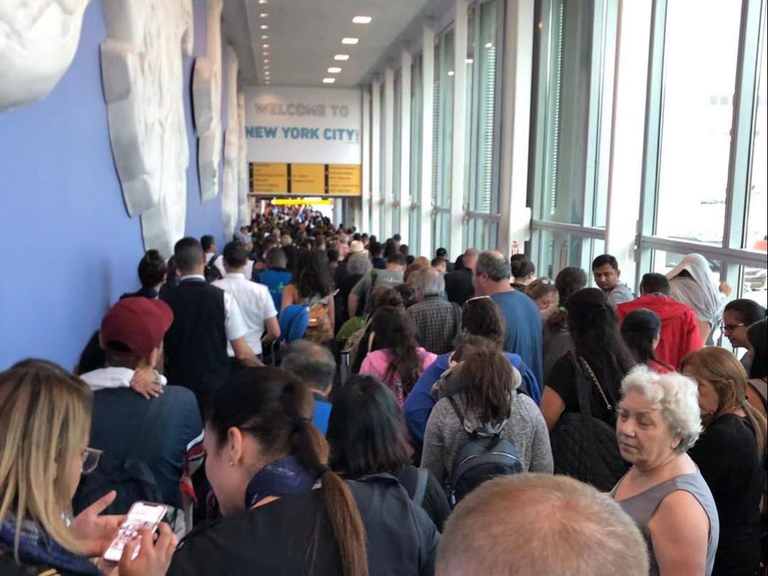 美国海关电脑故障怎么回事 大批旅客无法正常办理入境手续