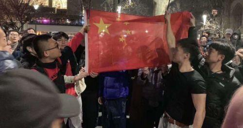 这才是中国青年!澳大利亚中国留学生声援祖国现场图曝光太燃了!