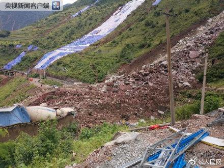 成昆铁路甘洛段山体崩塌 已发现12具疑似失联人员遗体