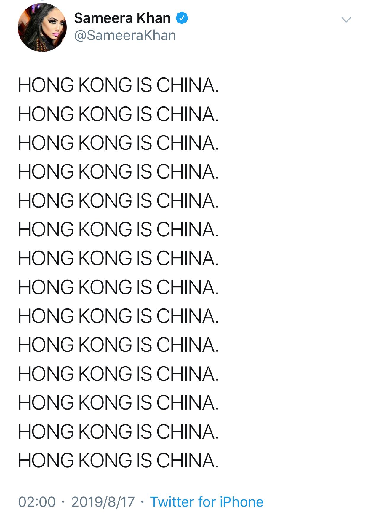 选美冠军怼希拉里怎么回事 霸气回复:别插手中国内政,你这可悲的过气政客