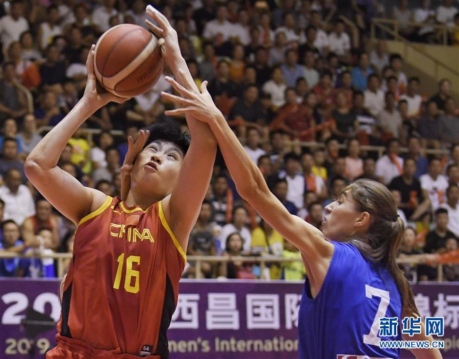 (体育)(3)篮球——西昌国际女篮锦标赛:中国队夺冠