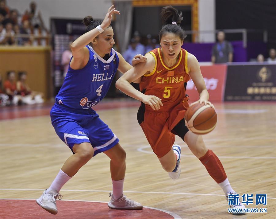 (体育)(5)篮球——西昌国际女篮锦标赛:中国队夺冠