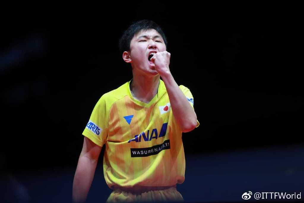 保乒球賽趙子豪2-4張本智和無緣冠軍 陳幸同折桂