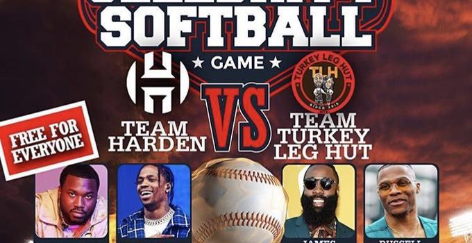 哈登维斯组队首秀! 下周将一同参加公益垒球赛